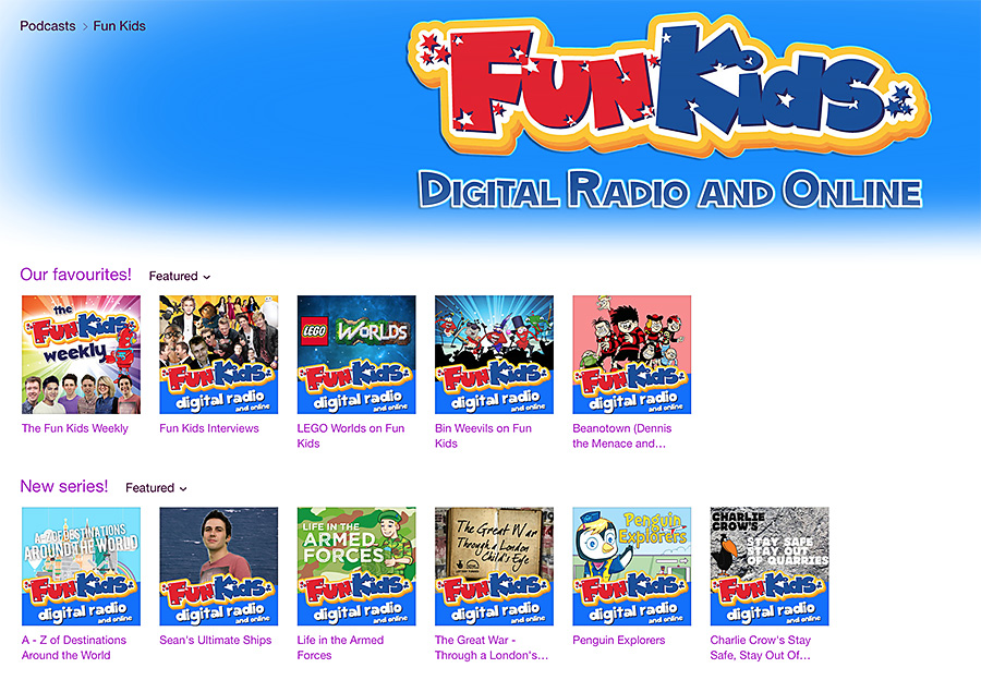 Fun Kids Radio Podcasts | Saffy and Indy